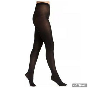 Berkshire Luxe Opaque Tights Black Size 1X-2X